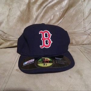 New Era Boston Red Sox Baseball Cap with Stickers